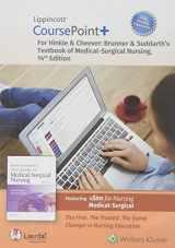 9781975124465-1975124464-Lippincott CoursePoint+ Enhanced for Brunner & Suddarth's Textbook of Medical-Surgical Nursing