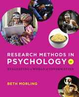 9780393936933-0393936937-Research Methods in Psychology: Evaluating a World of Information (Second Edition)