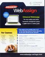 9781285858487-1285858484-Enhanced Webassign Multi-Term Loe Printed Access Card for Math & Sciences