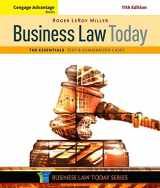 9781305574793-1305574796-Cengage Advantage Books: Business Law Today, The Essentials: Text and Summarized Cases