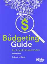 9780873267670-0873267672-A Budgeting Guide for Local Government