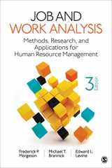 9781544329529-1544329520-Job and Work Analysis: Methods, Research, and Applications for Human Resource Management