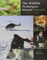 9781421401591-1421401592-The Wildlife Techniques Manual: (Volume 1: Research/ Volume 2: Management)