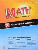 9780076623273-0076623270-Glencoe Math, Assessment Masters, CCSS Common Core Edition, Course 1