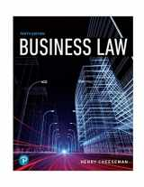 9780134728780-0134728785-Business Law (10th Edition) (What's New in Business Law)