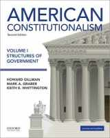 9780190299477-0190299479-American Constitutionalism: Volume I: Structures of Government