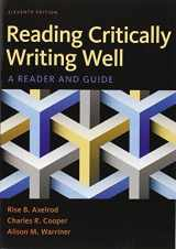 9781319032753-1319032753-Reading Critically, Writing Well: A Reader and Guide