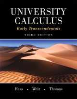 9780321999580-0321999584-University Calculus: Early Transcendentals (3rd Edition)