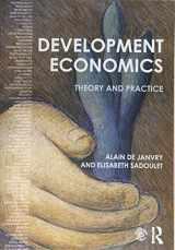 9781138885318-1138885312-Development Economics: Theory and practice