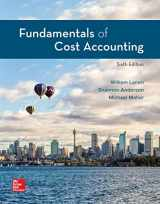 9781260708752-1260708756-Loose-Leaf for Fundamentals of Cost Accounting