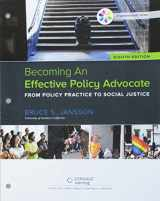 9781337596251-1337596256-Bundle: Becoming An Effective Policy Advocate, Loose-Leaf Version, 8th + MindTap Social Work, 1 term (6 months) Printed Access Card