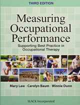 9781630910266-1630910260-Measuring Occupational Performance (Supporting Best Practice in Occupational Therapy)