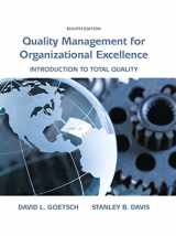 9780133791853-0133791858-Quality Management for Organizational Excellence: Introduction to Total Quality (8th Edition)