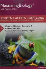 9780321946492-0321946499-Mastering Biology with Pearson eText -- Standalone Access Card -- for Campbell Biology: Concepts & Connections (8th Edition)
