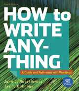 9781319362218-1319362214-How to Write Anything with Readings with 2020 APA Update: A Guide and Reference