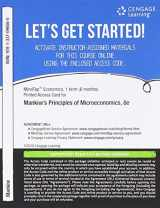 9781337096560-1337096563-MindTap Economics, 1 term (6 months) Printed Access Card for Mankiw's Principles of Microeconomics, 8th