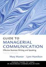 9780132971331-013297133X-Guide to Managerial Communication (10th Edition) (Guide to Series in Business Communication)