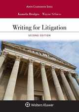 9781543809190-1543809197-Writing for Litigation (Aspen Casebook)