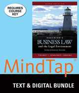 9781337061254-1337061255-Bundle: Anderson's Business Law and the Legal Environment, Comprehensive Volume, Loose-leaf Version, 23rd + MindTap Business Law, 1 term (6 months) Printed Access Card