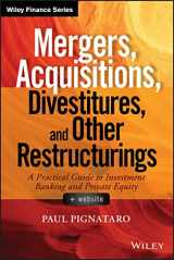 9781118908716-1118908716-Mergers, Acquisitions, Divestitures, and Other Restructurings, + Website (Wiley Finance)