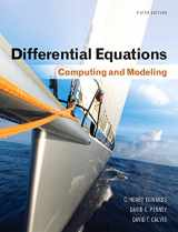 9780321816252-0321816250-Differential Equations: Computing and Modeling (5th Edition) (Edwards, Penney & Calvis, Differential Equations: Computing and Modeling Series)