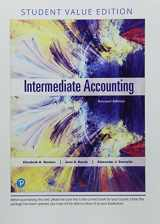 9780134732145-0134732146-Intermediate Accounting, Student Value Edition