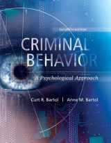 9780134163741-0134163745-Criminal Behavior: A Psychological Approach