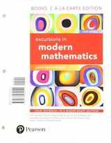 9780134469041-0134469046-Excursions in Modern Mathematics, Books a la carte edition (9th Edition)