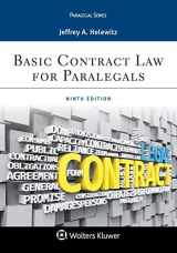 9781454896289-1454896280-Basic Contract Law for Paralegals