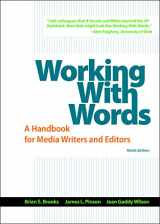 9781319011741-1319011748-Working with Words: A Handbook for Media Writers and Editors