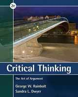 9781285197197-1285197194-Critical Thinking: The Art of Argument (MindTap Course List)
