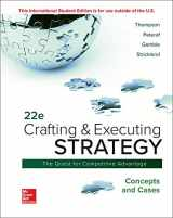 9781260565744-1260565742-Crafting & Executing Strategy: Concepts and Cases