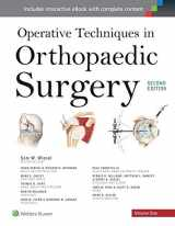 9781451193145-1451193149-Operative Techniques in Orthopaedic Surgery (Four Volume Set)