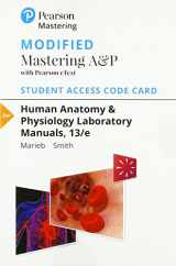 9780134776798-0134776798-Modified Mastering A&P with Pearson eText -- Standalone Access Card -- for Human Anatomy & Physiology Laboratory Manuals (13th Edition)