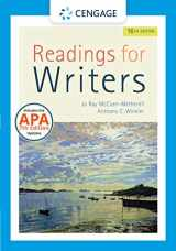 9781337902311-1337902314-Readings for Writers with APA 7e Updates