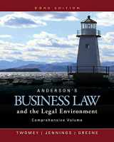 9781305575080-1305575083-Anderson's Business Law and the Legal Environment, Comprehensive Volume