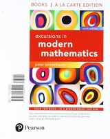 9780134765839-0134765834-Excursions in Modern Mathematics, Books a la Carte Edition Plus MyLab Math -- Access Card Package (9th Edition)