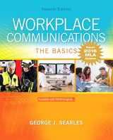 9780134701301-0134701305-Workplace Communications: The Basics, MLA Update (7th Edition)