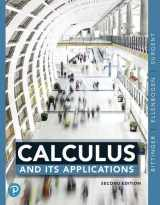 9780135091685-0135091683-Calculus and Its Applications (2nd Edition)