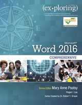 9780134479460-0134479467-Exploring Microsoft Word 2016 Comprehensive (Exploring for Office 2016 Series)