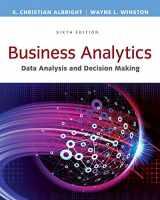 9781305947542-1305947541-Business Analytics: Data Analysis & Decision Making - Standalone book