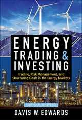 9781259835384-1259835383-Energy Trading & Investing: Trading, Risk Management, and Structuring Deals in the Energy Markets, Second Edition