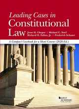 9781647080808-1647080800-Leading Cases in Constitutional Law, A Compact Casebook for a Short Course, 2020 (American Casebook Series)