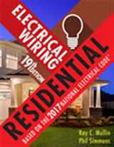 9781337101837-1337101834-Electrical Wiring Residential