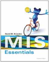 9780133546590-0133546594-MIS Essentials (4th Edition)