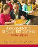 9780132613262-0132613263-Assessment in Special Education: A Practical Approach (4th Edition)