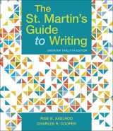 9781319104382-131910438X-The St. Martin's Guide to Writing, Short Edition