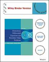 9781118157381-1118157389-Elementary Differential Equations and Boundary Value Problems, Binder Ready Version