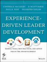 9781118458075-1118458079-Experience-Driven Leader Development: Models, Tools, Best Practices, and Advice for On-the-Job Development