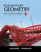 9781285195698-1285195698-Elementary Geometry for College Students